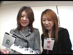 Cô gái Nhật bản Zenra nhận từ street để làm trò chơi dành cho người lớn